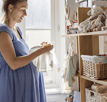 Preparing a Wardrobe for Your Baby