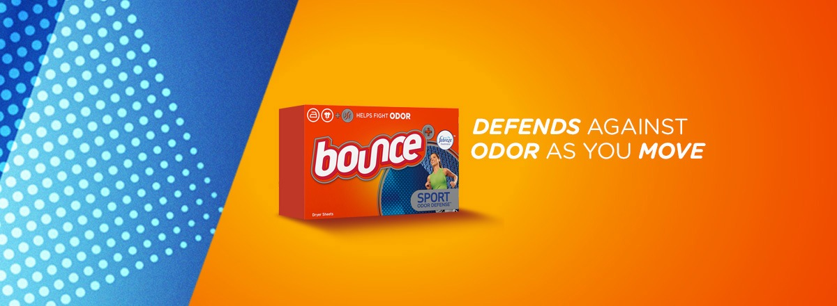 Bounce Sport Dryer Sheets