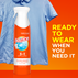 Bounce Rapid Touch Up 3-in-1 Clothing Spray makes your clothes ready to wear, when you need them.