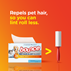 Bounce Pet Hair and Lint Guard Mega Dryer Sheet, Unscented repels pet hair better, so you can lint roll less.