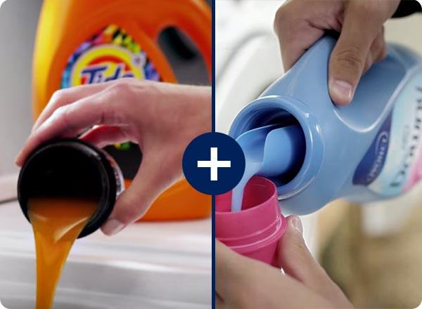 Use Tide Colorguard And Downy To Help Protect Your Clothes Color