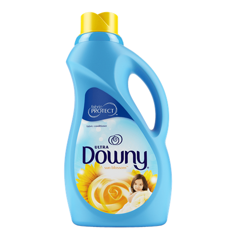 ultra downy sun blossom liquid fabric softener downy. Black Bedroom Furniture Sets. Home Design Ideas