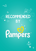 Recommended by Pampers