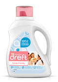 Dreft Family Friendly Laundry Detergent