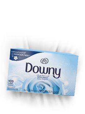 Toallitas para secadora Downy® Clean Breeze™ Fabric Softener